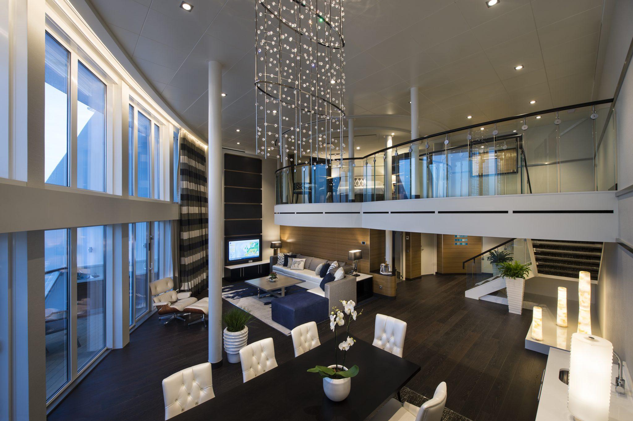 Royal Caribbean Loft suite