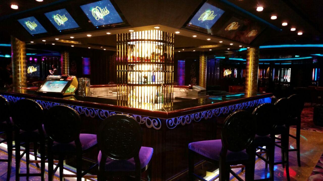 bar ristorante sulla nave epic