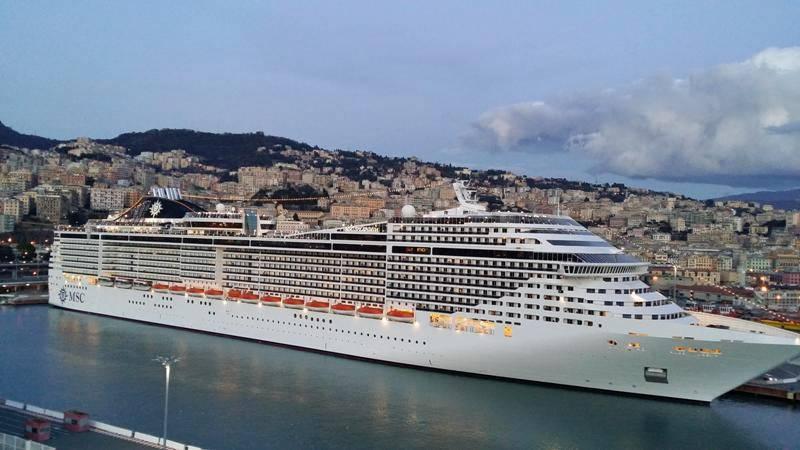 Napoli regina delle crociere nel Mediterraneo