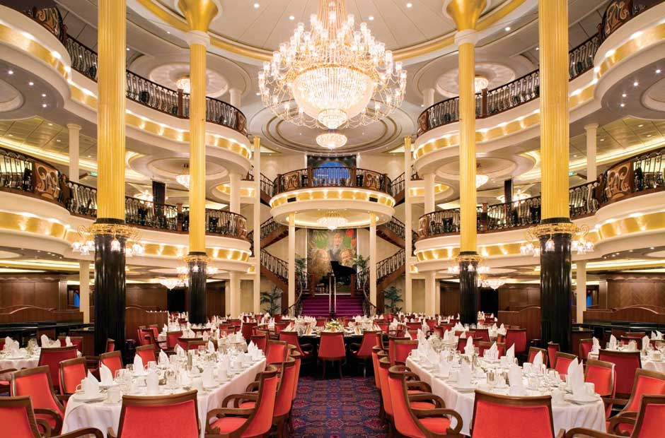 ristorante princiapale royal caribbean