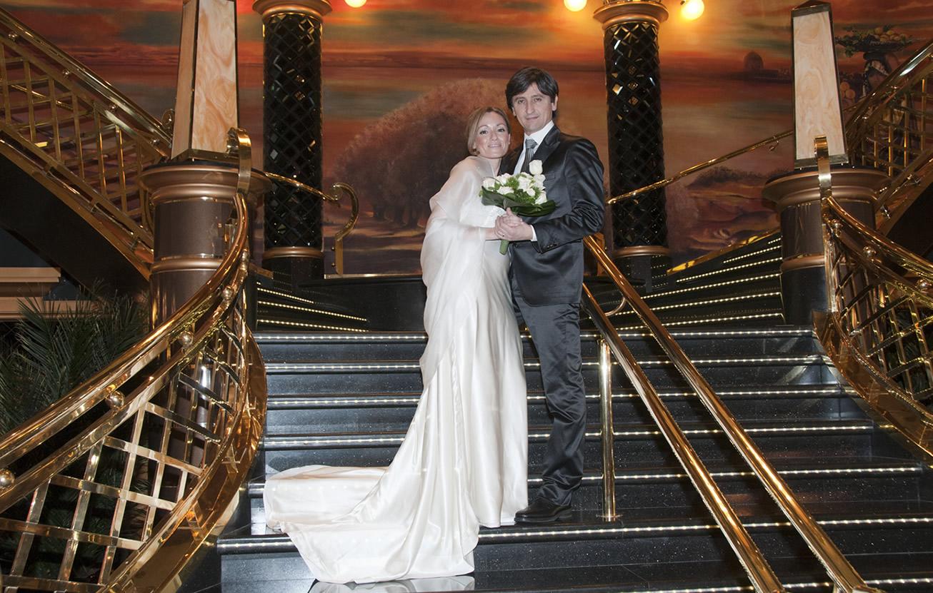 matrimonio nave msc