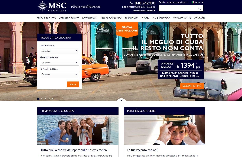 msc nuovo sito