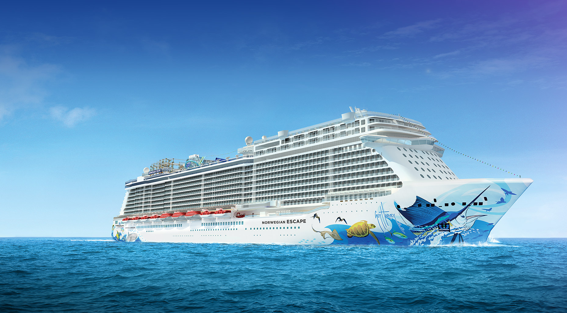 norwegian escape debutto
