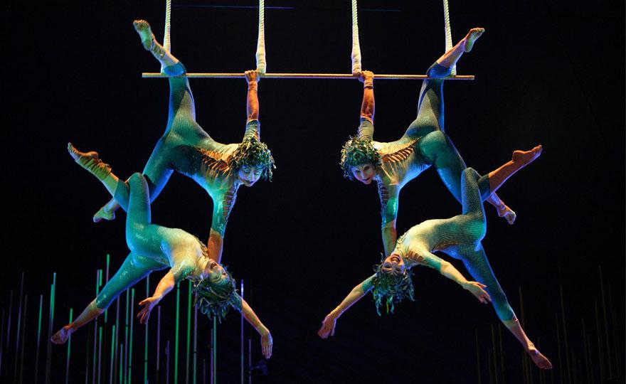 Il Cirque du Soleil sale a bordo delle navi MSC