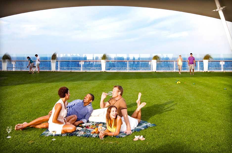 Ecco perchè sulle navi Celebrity l'erba è sempre più verde