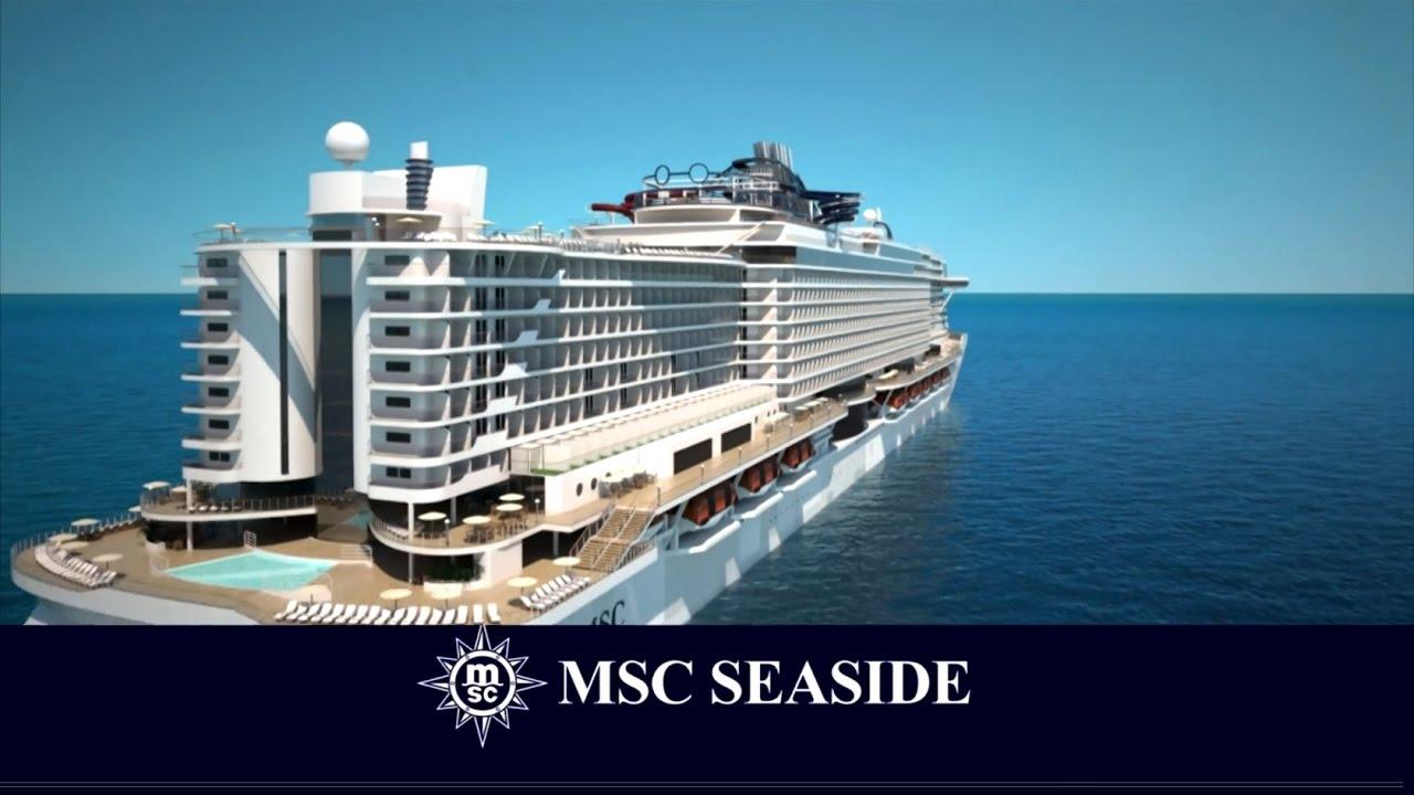 MSC Seaside. Una rivoluzione nel mondo delle navi da crociera