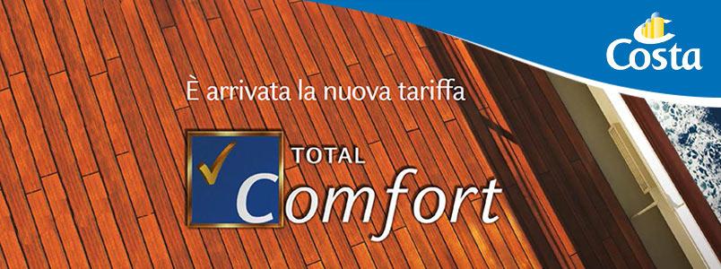 Tariffa Total Comfort Costa Crociere. Cos'è e come funziona