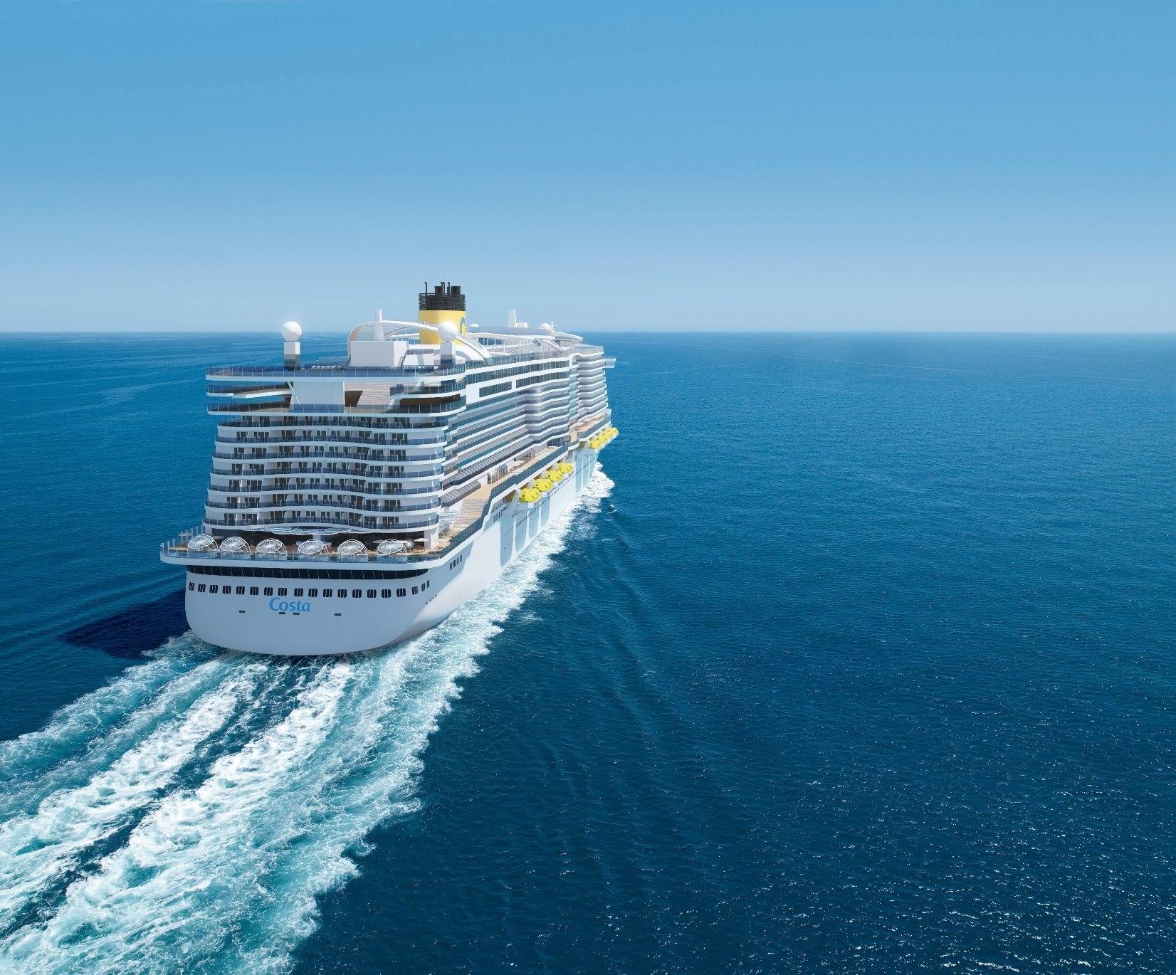Costa Smeralda, l'ammiraglia del 2019 di Costa Crociere