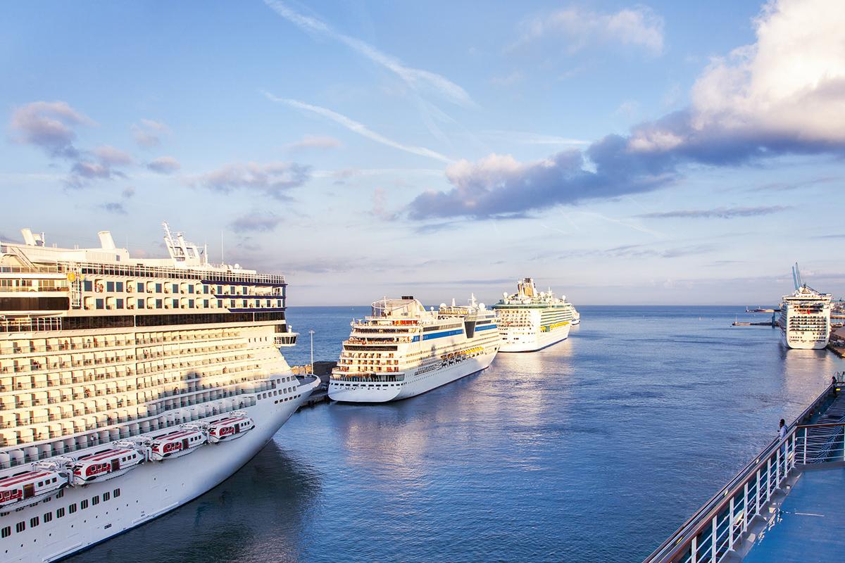 Il nuovo terminal crociere del porto di Civitavecchia