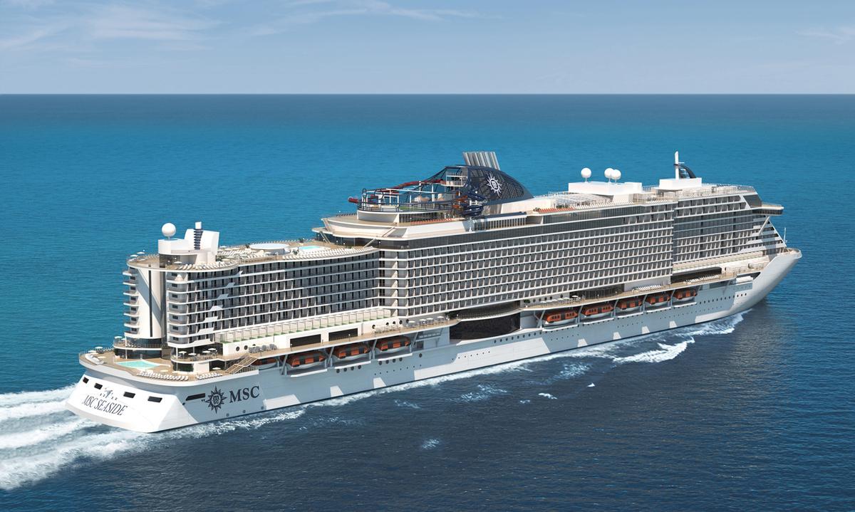 MSC Seashore, la nave del futuro di MSC Crociere