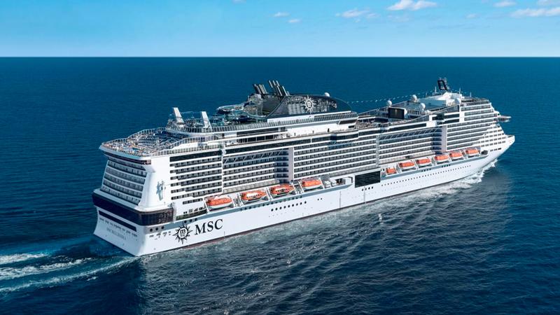 MSC Bellissima: il varo della nuova nave super tecnologica