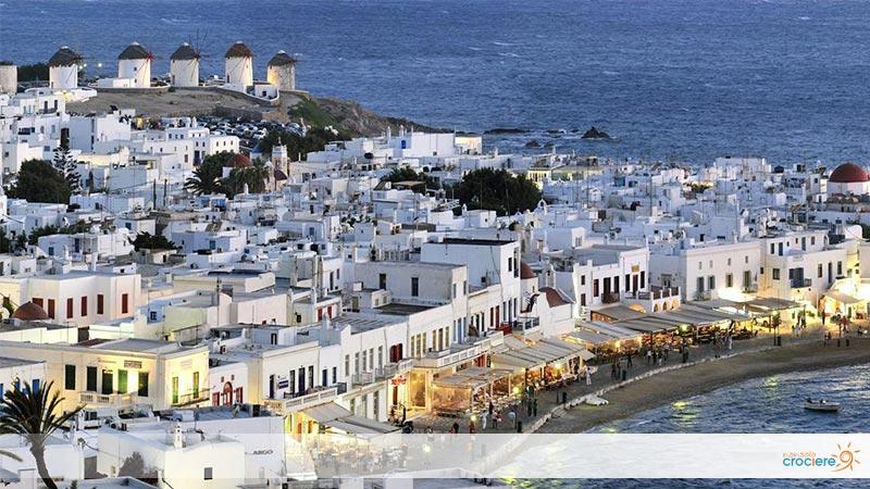 Crociera a Mykonos: cosa vedere