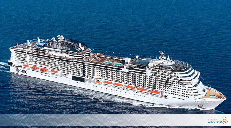 MSC Grandiosa: parti con la nuovissima nave da crociera