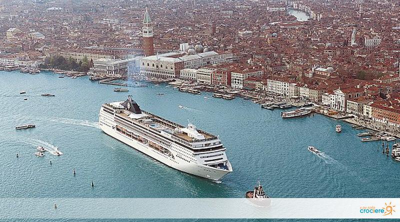 MSC Opera torna a Venezia dopo l'incidente
