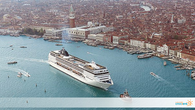 MSC Opera torna a Venezia dopo l'incidente