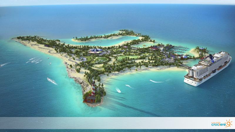 Ocean Cay: l'isola caraibica di MSC sarà presto visitabile