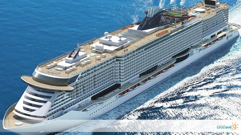 MSC Seashore, aperte le prenotazioni per la nave italiana più lussuosa