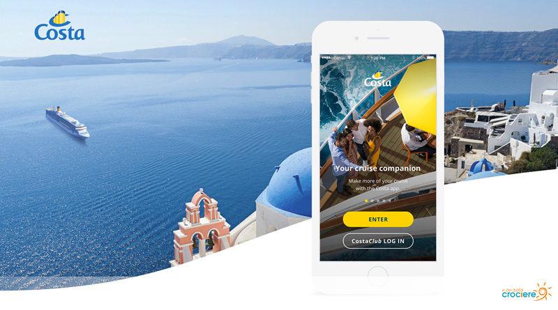 Costa App: scaricala per essere sempre aggiornato