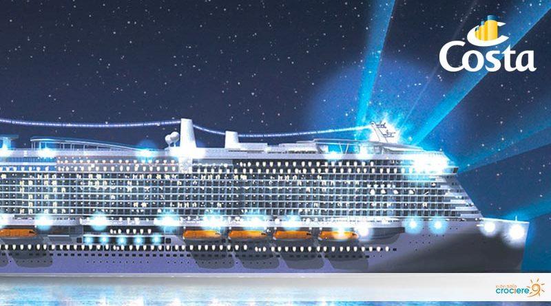 Costa Smeralda: parte a ottobre la nuova nave green