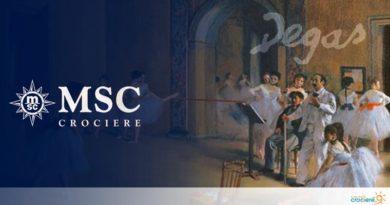 MSC Grandiosa: in mostra le opere di Degas