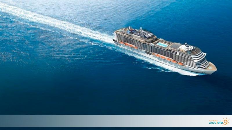 MSC Virtuosa: varo tecnico della nuova nave da crociera di MSC
