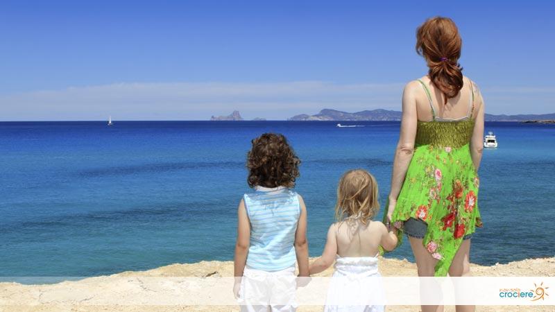 Crociera ad Ibiza con bambini: la vacanza per tutta la famiglia