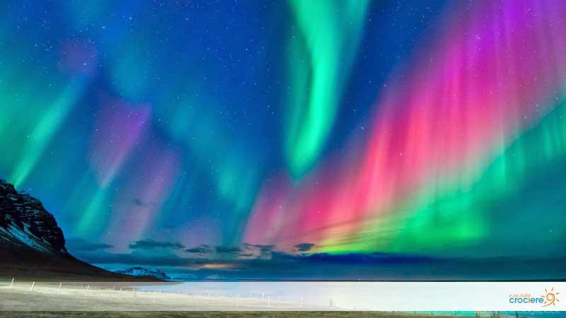 Aurora boreale, uno spettacolo da non perdere in crociera nel Nord Europa