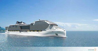 MSC World Europa: è iniziata la costruzione della prima nave alimentata a gas